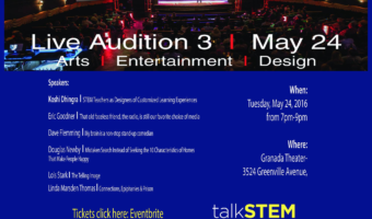 Join Us at TEDxSMU Live Auditions: May 24
