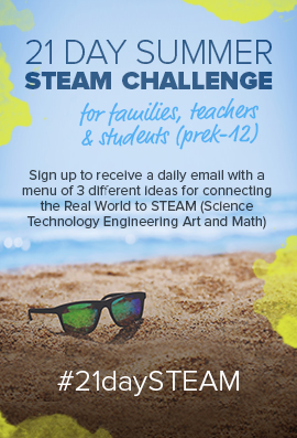 21 day steam challenge flyer