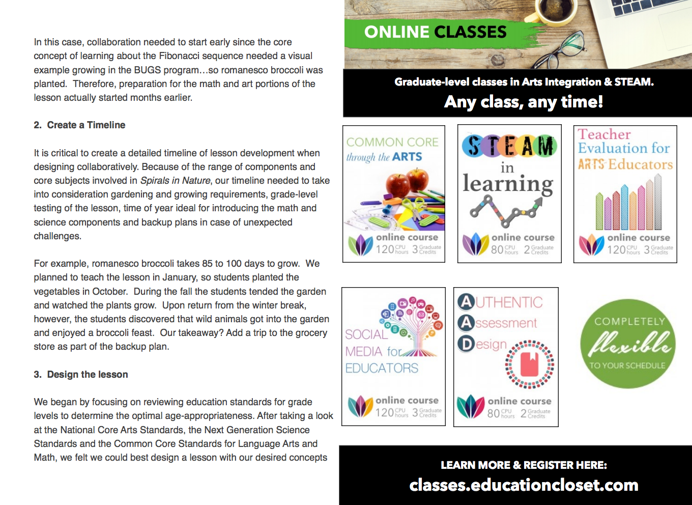 STEAM ON! Designing Art Lessons that Integrate with Core Curriculum